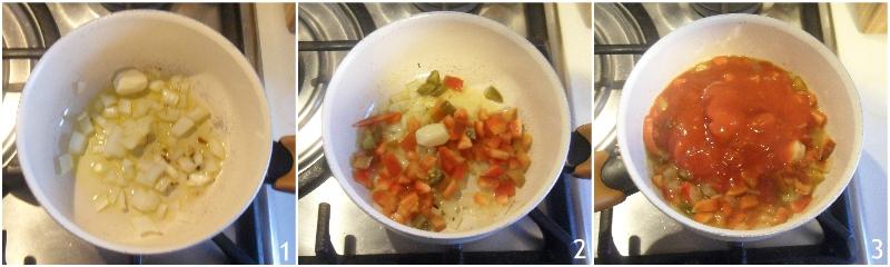 salsa piccante messicana per nachos ricetta originale facile con pomodoro e peperoni il chicco di mais 1 soffriggere peperoni