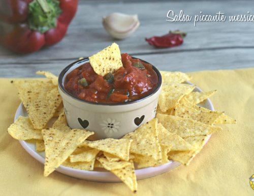 Salsa piccante messicana per nachos