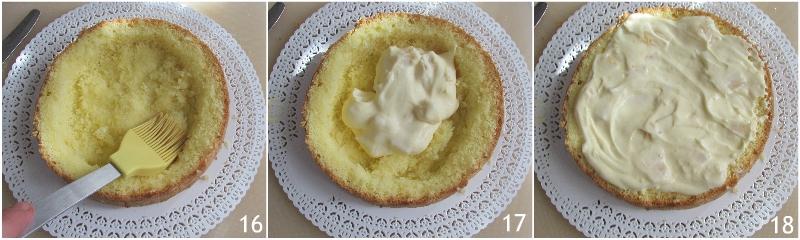 torta mimosa all'ananas ricetta facile con foto passo passo torta di compleanno il chicco di mais 6 farcire il dolce all'ananas