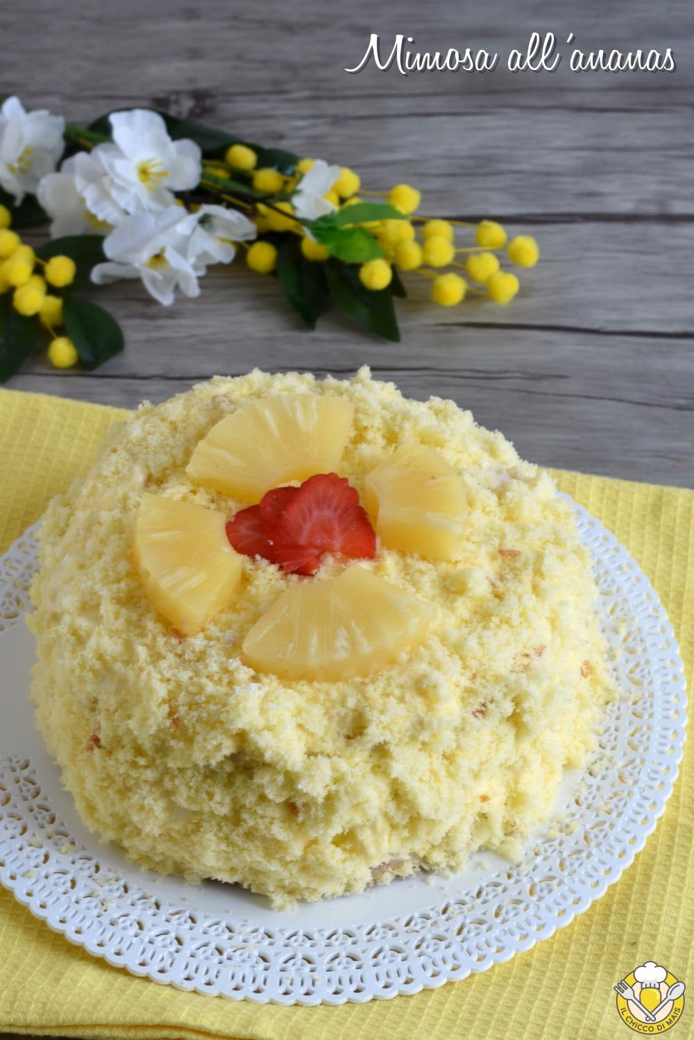 v int_ torta mimosa all'ananas ricetta facile con foto passo passo torta di compleanno il chicco di mais