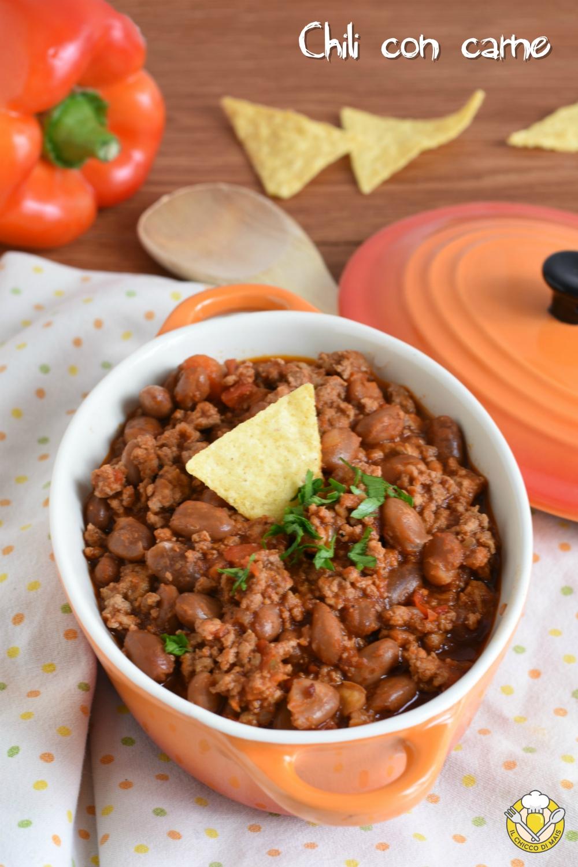 v_ chili con carne e fagioli ricetta messicana texmex con carne macinata il chicco di mais