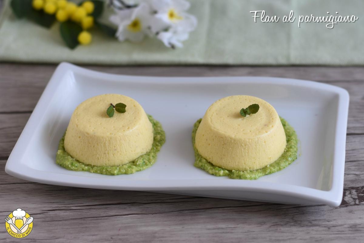flan al parmigiano con salsa di zucchine ricetta sformatini o tortini antipasto facile raffinato vegetariano il chicco di mais