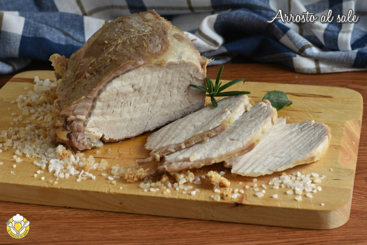 or_ arrosto al sale di maiale vitello manzo tacchino ricetta facile tempi di cottura il chicco di mais