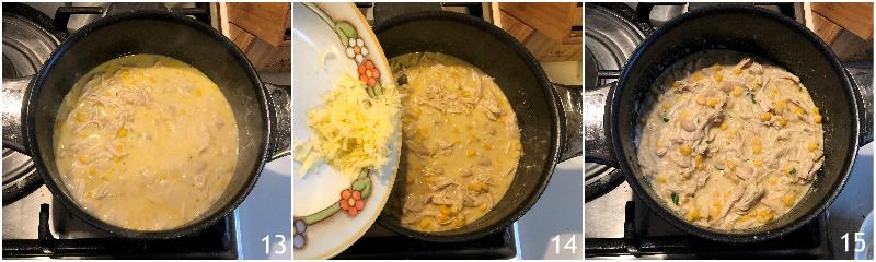 chili di pollo con fagioli e avocado ricetta messicana chili bianco il chicco di mais 5 far addensare