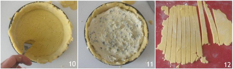 crostata di ricotta con gocce di cioccolato ricetta romana anche senza glutine il chicco di mais 3 farcire la crostata