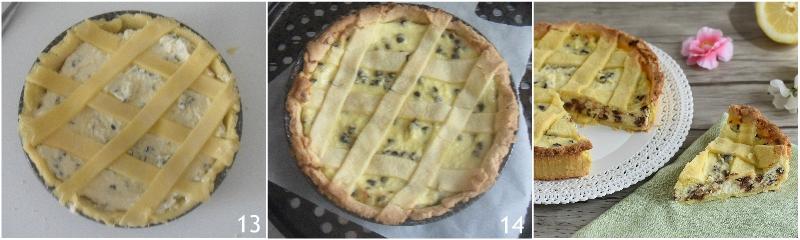 crostata di ricotta con gocce di cioccolato ricetta romana anche senza glutine il chicco di mais 5 cuocere il dolce