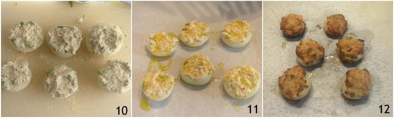 cipolle ripiene di tonno gratinate al forno ricetta antipasto economico il chicco di mais 4 cuocere in forno