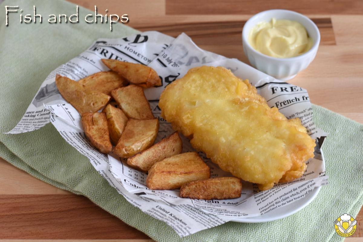 or_ fish and chips ricetta orginale inglese anche in versione senza glutine il chicco di mais