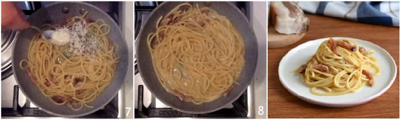 pasta alla gricia cremosa ricetta perfetta con video e consigli il chicco di mais 3 mantecare con il pecorino