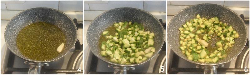 riso freddo zucchine e gamberetti ricetta insalata di riso con pesce facile e veloce il chicco di mais 2 rosolare le zucchine