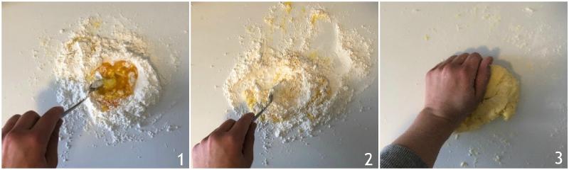 tagliolini senza glutine all'uovo ricetta base pasta glutenfree il chicco di mais 1 impastare uova e farina