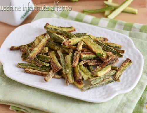 Zucchine infarinate al forno