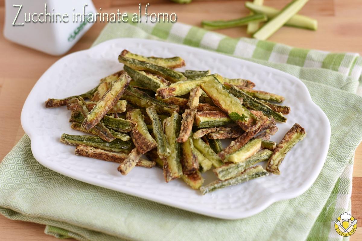 Ricetta Veloce Con Zucchine.Zucchine Infarinate Al Forno Ricetta Light Facile E Veloce Il Chicco Di Mais