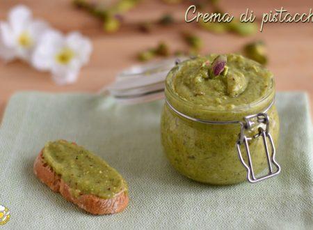 Crema di pistacchi spalmabile