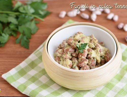 Fagioli in salsa tonnata senza maionese
