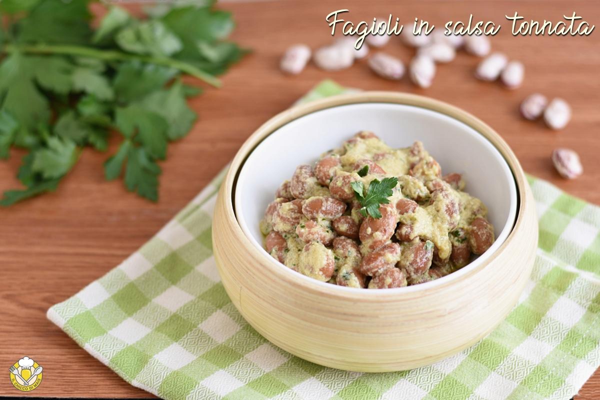 fagioli in salsa tonnata senza maionese con uova sode ricetta estiva facile e sfiziosa il chicco di mais