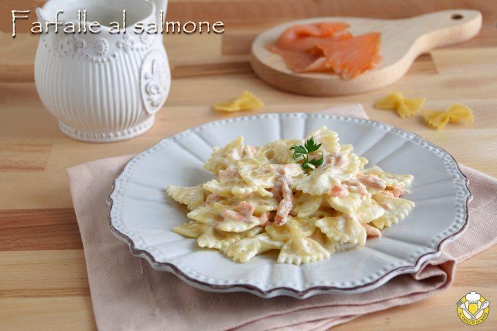 farfalle al salmone affumicato con panna ricetta facile e veloce il chicco di mais