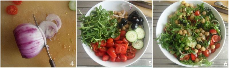insalata di ceci estiva con pomodorini rucola e cetriolo ricetta light il chicco di mais 2 condire l'insalata