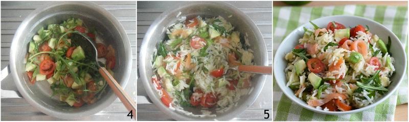 insalata di riso con salmone e avocado ricetta estiva facile e veloce il chicco di mais 2 condire il riso basmati