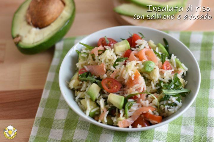 insalata di riso con salmone e avocado ricetta estiva facile e veloce il chicco di mais