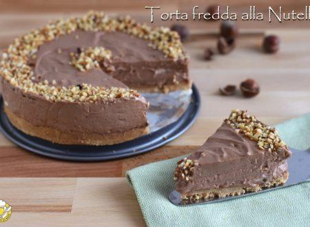 Mousse cake: torta fredda veloce alla Nutella