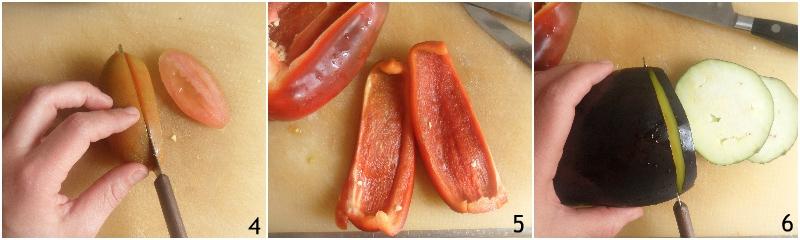 verdure gratinate al forno con pangrattato e parmigiano ricetta facile il chicco di mais 2 tagliare melanzane peperoni e pomodori