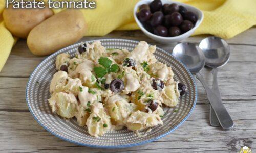 Insalata di patate tonnate