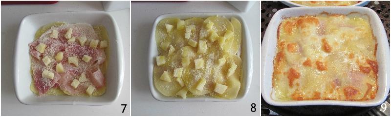 parmigiana di patate e prosciutto cotto con formaggio ricetta veloce tutto a crudo il chicco di mais 3 cuocere il timballo in forno