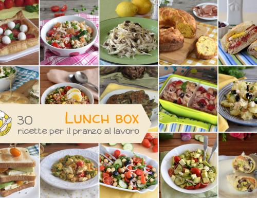 Lunch box: 30 ricette per il pranzo al lavoro