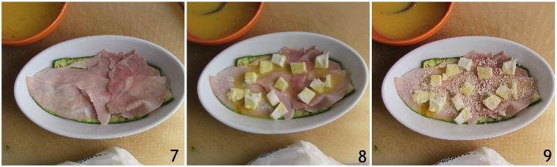 parmigiana di zucchine e prosciutto cotto con mozzarella filante ricetta sformato di zucchine in bianco il chicco di mais 3 formare gli strati