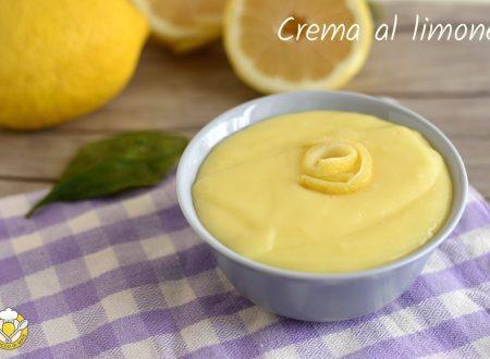 Crema al limone con uova intere