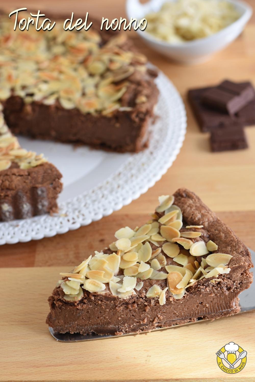 det_ torta del nonno ricetta crostata della nonna al cioccolato e mandorle ricetta passo passo il chicco di mais