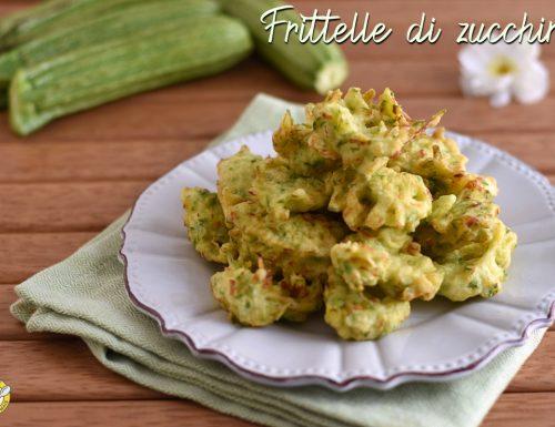 Frittelle di zucchine grattugiate