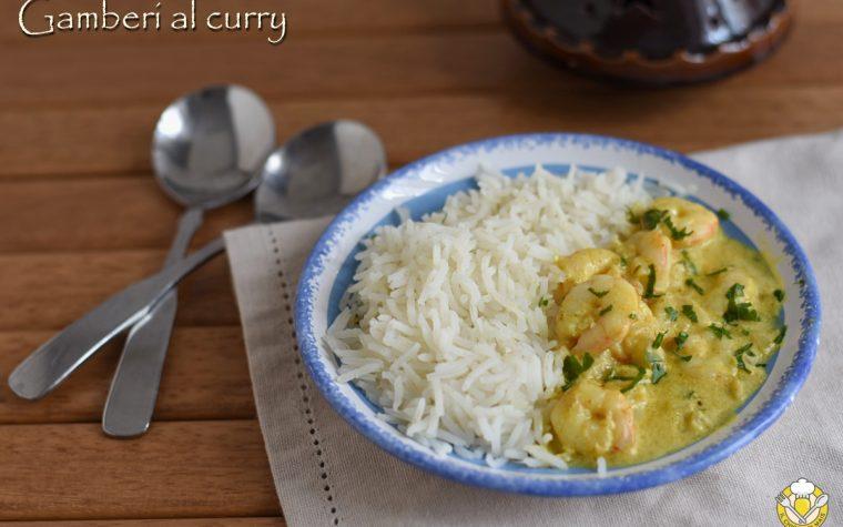 Gamberi al curry