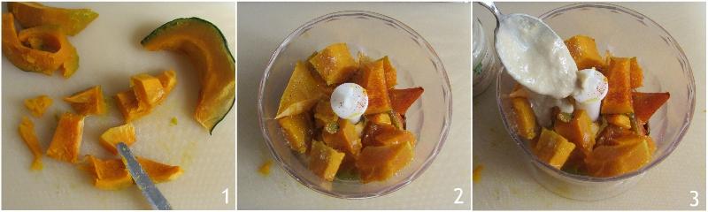 hummus di zucca senza ceci ricetta facile crema spalmabile alla zucca il chiicco di mais 1 mettere tutto nel mixer