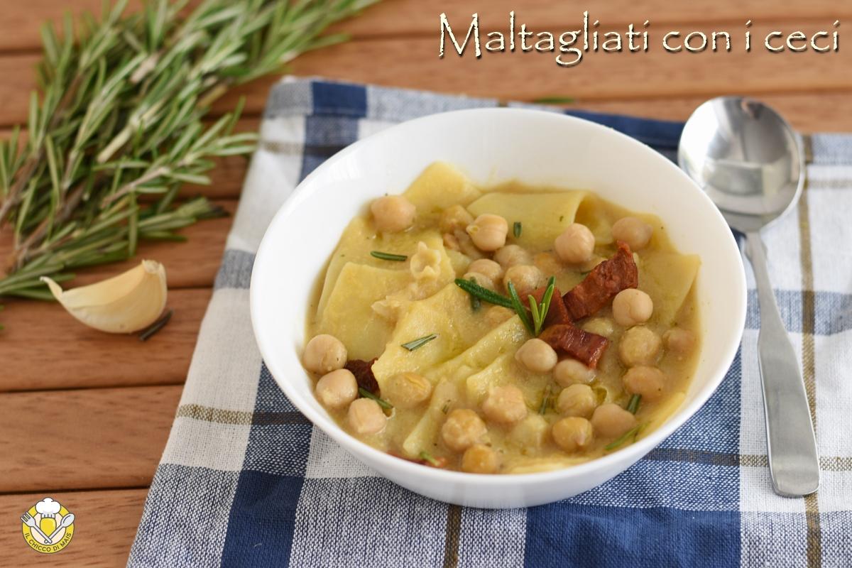 maltagilati con i ceci ricetta facile zuppa autunnale il chicco di mais