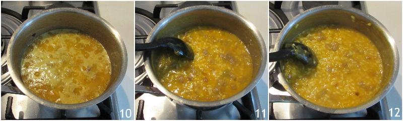 risotto zucca e salsiccia cremoso mantecato ricetta facile il chicco di mais 4 cuocere il risotto