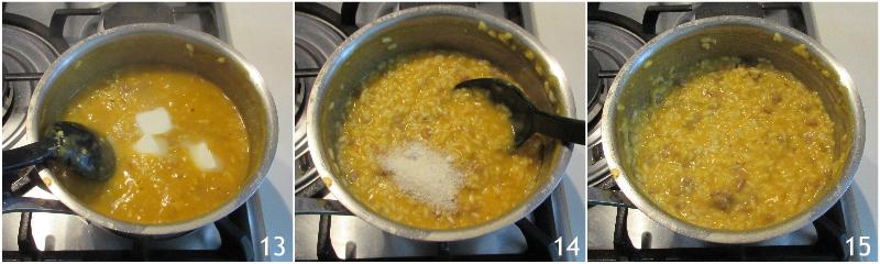 risotto zucca e salsiccia cremoso mantecato ricetta facile il chicco di mais 5 mantecare il risotto