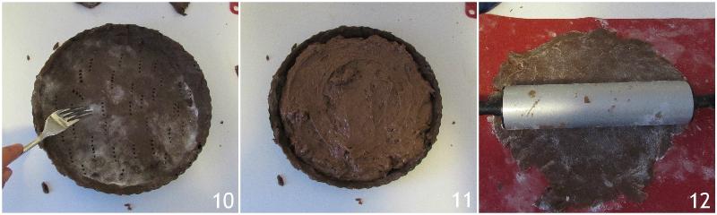 torta del nonno ricetta crostata della nonna al cioccolato e mandorle ricetta passo passo il chicco di mais 4 farcire la crostata