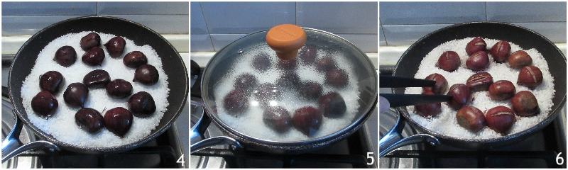 come cuocere le castagne al sale in padella facili da sbucciare il chicco di mais 2 cuocere le castagne