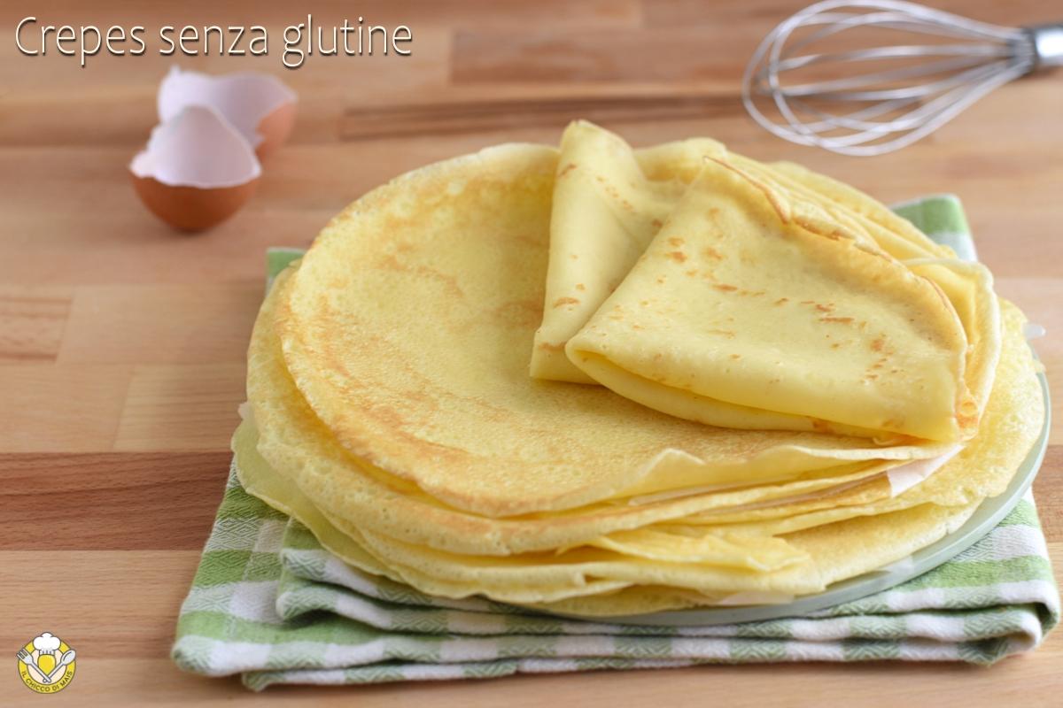 crepes senza glutine con farina di riso ricetta facile crespelle glutenfree per dolci lasagne fagottini il chicco di mais