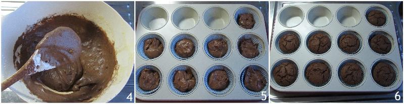 cupcake mostri di halloween al cioccolato ricetta con tutorial per fare le decorazioni ad occhi in casa il chicco di mais 2 cuocere i cupcakes