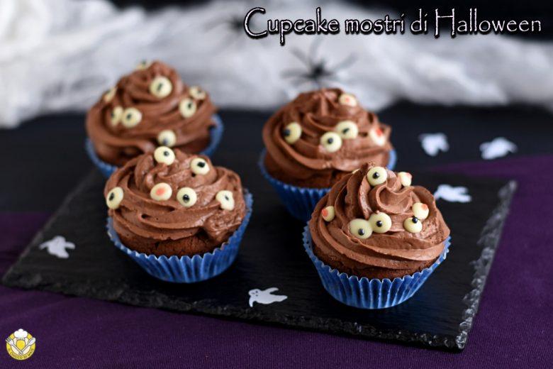 Cupcake mostri di Halloween