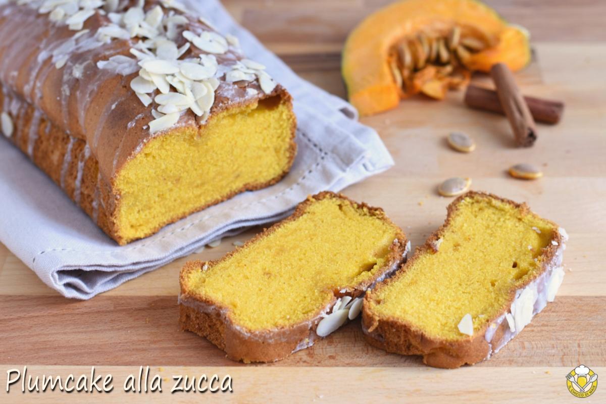plumcake alla zucca e cannella ricetta pumpkin bread americano il chicco di mais
