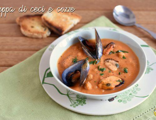 Zuppa di ceci e cozze