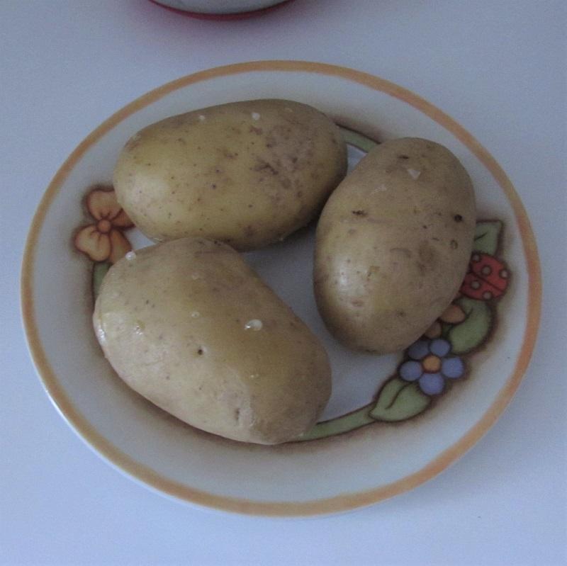 come lessare le patate al microonde intere e con la buccia il chicco di mais