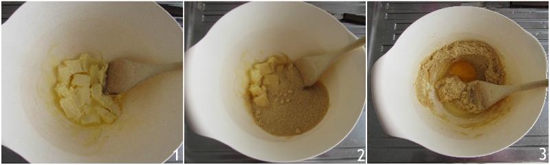 cookies senza glutine con gocce di cioccolato ricetta con farine naturali glutenfree di riso e mais il chicco di mais 1 unire burro e zucchero di canna