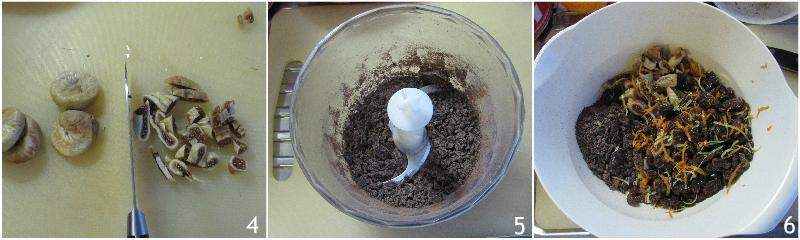 pangiallo romano ricetta originale laziale dolce di natale tradizionale con frutta secca il chicco di mais 2 tritare il cioccolato