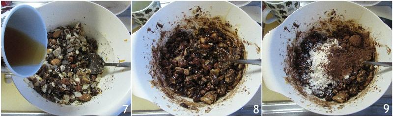 pangiallo romano ricetta originale laziale dolce di natale tradizionale con frutta secca il chicco di mais 3 unire miele e farina