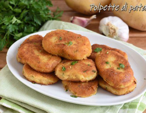 Polpette di patate siciliane